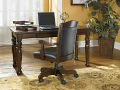 Porter Home Office Collection by Ashley Furniture at Furniture Outlet World