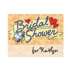 Cute Bridal Shower Melon Custom Invite