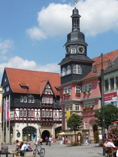 Eisenach - Tyskland. Eget foto Deutschland
