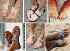 Summer Sandals with immaculate polish