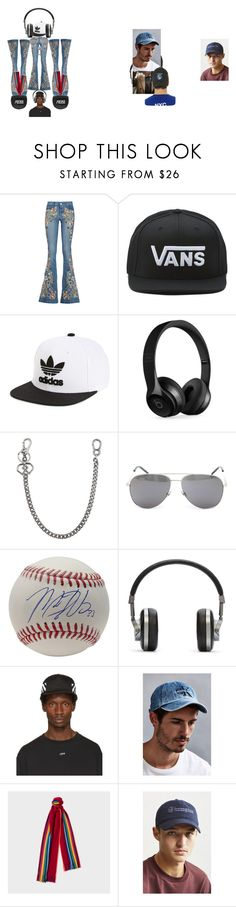 """""""flare 99.9% wont see him wobble (click bate)"""" by ujonesm on Polyvore featuring interior, interiors, interior design, home, home decor, interior decorating, Alice + Olivia, Vans, adidas Originals and Beats by Dr. Dre"""