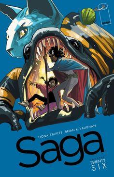 Saga Writer: Brian K. Vaughan Artist: Fiona Staples Publisher: Image