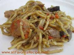 Pancit Canton or Lo Mein in chinese is another filipino dish with Chinese origin. This pansit recipe becomes one of the traditional Filipino noodle dish th