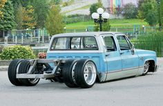 1985 Chevy Crew Cab under construcrion dually..