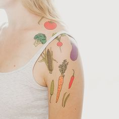 Temporary tattoos tasty enough to eat!