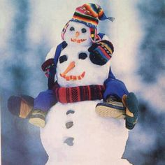 I want to make this snowman! :-)