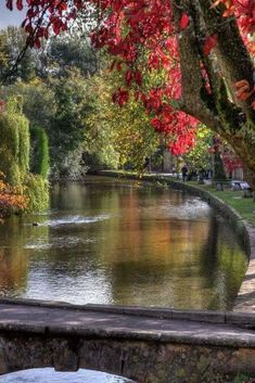 The River Windrush, in the English Cotswolds, Gloucestershire, England • photo: Gary