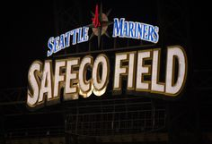 Safeco Field, Seattle, Washington Seattle Washington, Product Photography, Broadway Shows, Editorial, Neon Signs