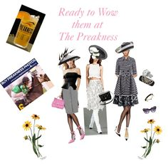 Ready to Wow them at the Preakness by stylemyride on Polyvore featuring polyvore fashion style GUESS Topshop RED Valentino Jonathan Saunders Altuzarra Zimmermann Matthew Williamson Chicwish Hanes Manolo Blahnik Alexander Wang Alexander McQueen Dolce&Gabbana Irene Neuwirth Hermès Miss Selfridge Philip Treacy Chanel