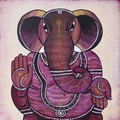 Ganesh Ganesha Art, Lord Ganesha, India Art, Art Forms, Tigger, Disney Characters, Fictional Characters, Crafts, Mathematics