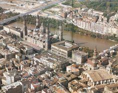 Vista aérea 1990 | por GAZA - Gran Archivo Zaragoza Antigua