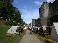 Remparts durant la fête Médiévale de Provins - 2007