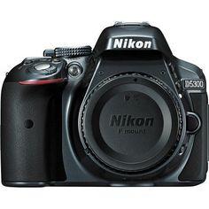 Nikon D5300 24.2 MP Digital SLR Camera  Gray (Body only)  New