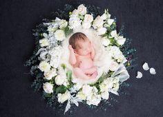 Neugeborenen digitale Kulisse digitale von SvitlanaVronskaART