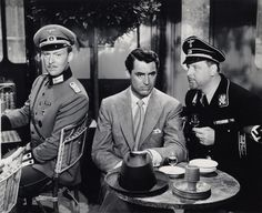 "Albert Dexter, Cary Grant and Walter Slezak, ""Once Upon A Honeymoon""."