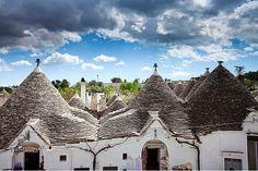 Alberobello - Pouilles - Italie/le-village-hobbit ? ou les Trulli ?