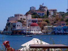 Λιμάνι Καστελλόριζου (Kastellorizo Port) in Μεγίστη