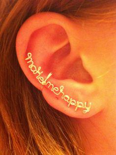 Make Me Happy- Ear cuff