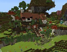 Minecraft Starter House, Minecraft E, Minecraft Houses Survival, Minecraft Cottage, Cute Minecraft Houses, Minecraft Creations, Minecraft Projects, Minecraft Designs, Minecraft Furniture