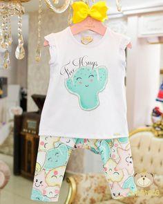 Girls Tunics, Kids Wear, Cool T Shirts, Girl Fashion, Kawaii, Babies, Fun, How To Wear, Clothes