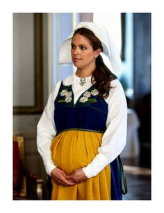 Princess Madeleine at the Swedish National Day Reception at the Royal Palace on June 6th, 2015.
