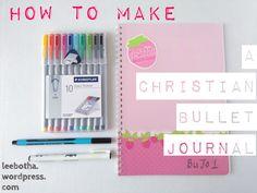 How to start a Christian bullet journal