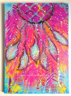 THE BACKGROUND25x35cm canvasgaleria gessoranger embossing pastedylusions paint | crushed grapedylusions paint | squeezed orangedylusions paint | bubblegum pinkdylusions paint | postbox reddylusions pa