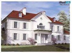 Картинки по запросу фасад дома с красной крышей