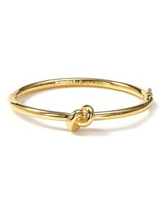kate spade new york Sailor's Knot Hinge Bangle   Bloomingdale's  Cute bridal party gift. Also comes in silver.