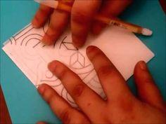 ▶ DIY: Square Mandala - YouTube Doodle Coloring, Colouring Pages, Zen Doodle, Doodle Art, Hamsa, Square 1 Art, Art Tutorials, Drawing Tutorials, Zentangle Patterns