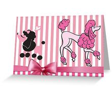 Greeting Card   #poodles #dogs #animals #paris #christmas