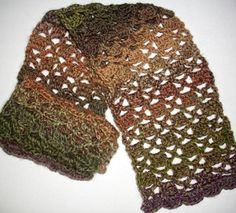 Funky Brick Crochet Scarf Pattern | AllFreeCrochet.com TRY PATTERN FOR CARDIGAN
