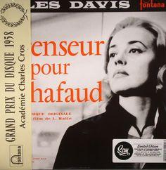The artwork for the vinyl release of: Miles Davis - Ascenseur Pour Lechafaud (Soundtrack) (SAM) #music SoulJazz