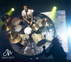 Newsboys Drummer 2014 Phillips of newsboys