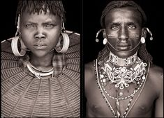 Incredible portraits of the remote societies in the far north of Kenya, including the Samburu, Rendille, Turkana and Pokot. Photography by John Kenny