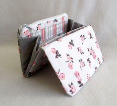 Mini-Geldbörse+Design+Rosen+von+Made+by+Monique+auf+DaWanda.com