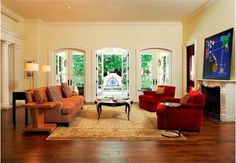 Ridgeview living room - Home and Garden Design Idea's