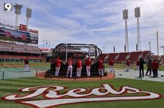 Batter up! Got swagger? Reds have walk up songs.....love it!!!