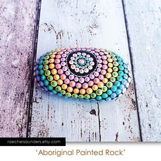 Malte Rock Kunst der Aborigines Dot Painted von RaechelSaunders