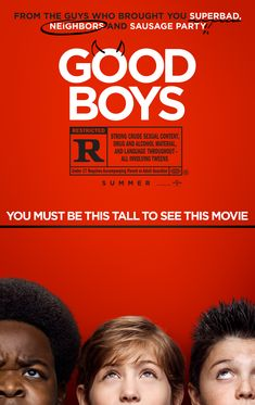 Just how bad can one day get? The creative minds behind Superbad, Pineapple Express and Sausage Party take on sixth grade hard in the outrageous comedy, Good Boys. After being invited to his… Movies 2019, New Movies, Movies And Tv Shows, Amazon Movies, Watch Movies, Boardwalk Empire, Venom Film, Free Movie Websites, Peliculas Online Hd