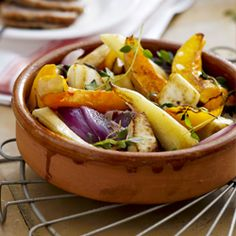 Airfryer - Roasted vegetables