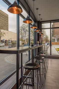 ideas for design cafe interior stools