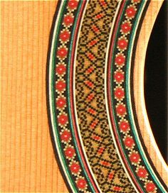 Classical Guitar Rosette