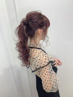 【Euphoria銀座三丁目】イルミナカラー ピーチブラウン♪長谷川 Backless, Hair Styles, Dresses, Fashion, Hair Plait Styles, Vestidos, Moda, Fashion Styles, Hair Makeup