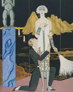 Le Soir (1925-26) by George Barbier