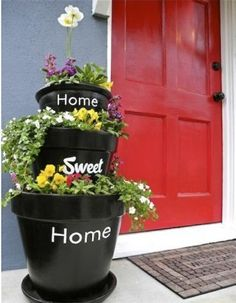 15 Excellent DIY Backyard Decoration & Outside Redecorating Plans 9 Home Sweet Home Pots