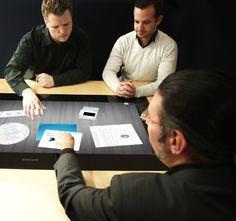 Table digitale pour l'open café