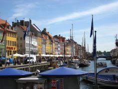 Copenhagen, Denmark. The Docks.
