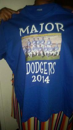 Kustome baseball shirt for a coach