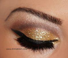 Sparkling Pin Up makeup